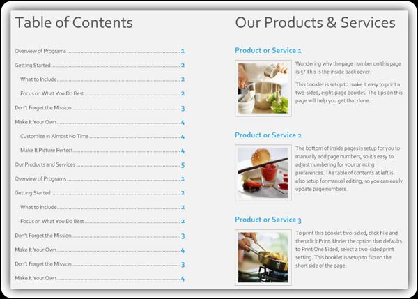 Product Catalog Sample