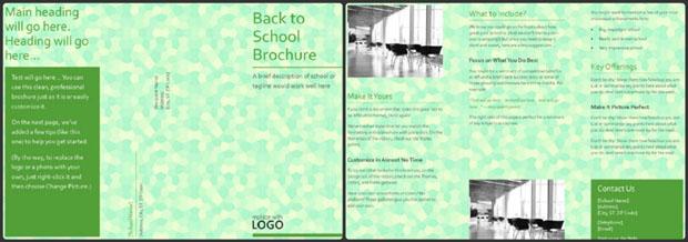 school brochure Example
